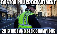 Boston Police Department - 2013 Hide and Seek Champions