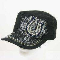 Cowgirl Bling Ranch, LLC - Horseshoe rhinestone cadet cap black, $16.99 (http://www.cowgirlblingranch.com/horseshoe-rhinestone-cadet-cap-black/)