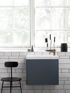 Badrum inspiration -  Litet badrum - Compact badrumsmöbler