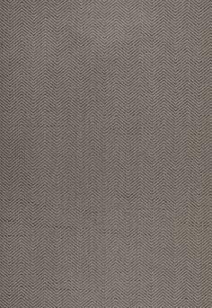 Wallcovering / Wallpaper | Pearce Herringbone in Smoke | Schumacher