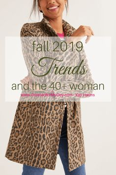 Fall 2019 Trends & the Woman - Dressed for My Day - fashion trends for the woman over 40 - over 40 fashion - over 50 fashion trends Fashion Trends 2018, 50 Fashion, Fashion Ideas, Fashion Fall, Fashion Boots, Fashion Styles, Fashion Brands, Fashion Sandals, Classic Fall Fashion