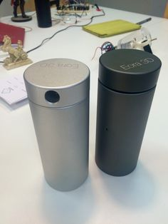 The eora 3D Scanner. 2 colours - Silver and Dark Grey