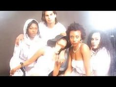 #Noneillah Collection Video Photo Shoot At NYC Shoot A Thon in #NewYork. The Noneillah Collection is by #hiphop artist #SeanCosMason. The models are wearing Noneillah music note/music sheet women and men wear. All digital design is by #Naomi #fashion designer. #videoviral