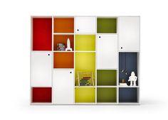 Battistella Nidi Luce Contemporary Children's Bookcase
