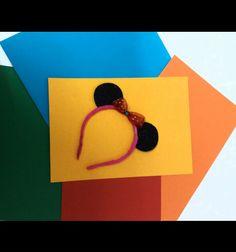 Mickey hair band.