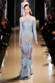 gorgeous... if only I had somewhere to wear this Elie Saab dress from the Spring 2013 collection. OH, and the money to buy it!!!