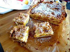 Jolka w kuchni: Ciasto kruche z brzoskwiniami i budyniem