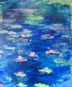 My Monet (2017/04 acrylic)