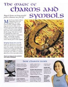 The magic of charms and symbols