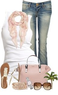Simple in Jeans by cindycook10 on Polyvore