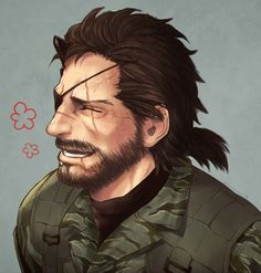 Awesome Art, Cool Art, Mgs V, Metal Gear Solid, Venom, Gears, Eye Candy, Snake, Video Games