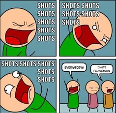 Seriously my husband has sang this song to me many many times before an injection!