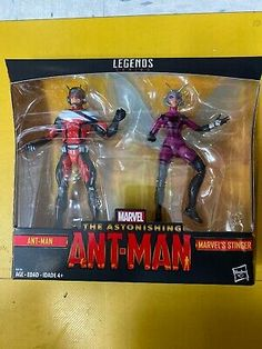 """MARVEL LEGENDS ANT-MAN AND THE WASP ca.16 cm FIGURE HASBRO ANT-MAN 6/"""" INCh"""