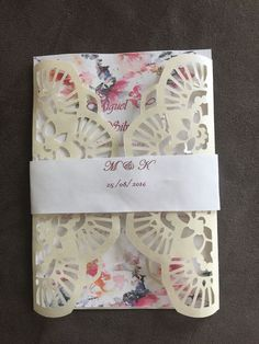 12 laser cut wedding invitation card  | eBay