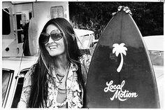 Charlotte Lagarde's portrait of surf legend Rell Sunn kicks off the ...
