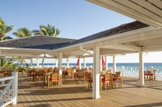 Renovated Beach Bar at Coral Sands Hotel, Harbour Island, Bahamas Sands Hotel, Beach Bars, Pergola, Coral, Outdoor Structures, Island, Adventure, Wells, Bliss