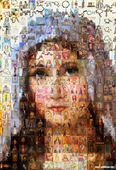 Check out the 10 Christian Mosaic Pictures given here. New christian mosaic pictures can be made too. Religious Pictures, Religious Icons, Religious Art, Blessed Mother Mary, Blessed Virgin Mary, Catholic Priest, Catholic Art, Image Jesus, Hail Holy Queen