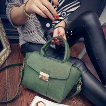Túi xách da nữ kèm quai đeo, thiết kế nhỏ gọn, mẫu Hàn Quốc