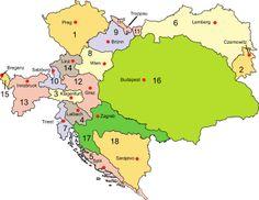 Die österreichischen Kronländer von 1867 bis 1918