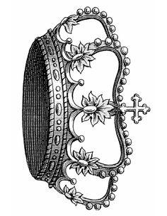 Vintage Crown Printable GraphicsFairy.pdf