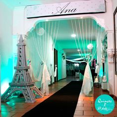 Righteous quinceanera party decorations Connect with Me on Social Media Paris Quinceanera Theme, Quinceanera Planning, Quinceanera Decorations, Quinceanera Party, Quinceanera Dresses, Paris Themed Cakes, Paris Themed Birthday Party, Paris Party, Quince Themes