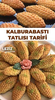 Kalburabastı Tatlısı Tarifi – Tatlı tarifleri – Las recetas más prácticas y fáciles Bakery Cakes, Sweet And Salty, Deserts, Food And Drink, Vegetables, Recipes, Bakken, Food, Desserts