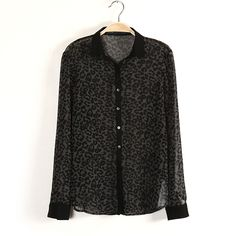 ladies Black leopard turn-down collar women blouses shirts 2014 loose long sleeve tops For Fashion Classical chiffon linen blusa - http://www.aliexpress.com/item/ladies-Black-leopard-turn-down-collar-women-blouses-shirts-2014-loose-long-sleeve-tops-For-Fashion-Classical-chiffon-linen-blusa/1773205551.html