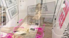 Przestrzeń biurowo - wystawiennicza w krakowskiej kamienicy o pow. 77, 51 mkw.  Biuro projektowe M&M