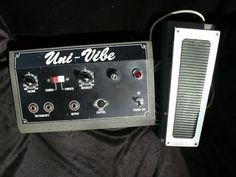 Univox Uni-vibe w/ expression pedal
