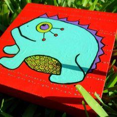 Funky Frog  Shop LuckiiArts | Luckii Arts Casey Virata