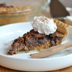 Let's celebrate Thanksgivukkah with Chocolate Gelt Pecan Pie!