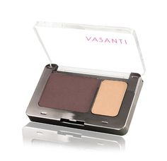 Vasanti Silky Eyeshadow Duo  Paraben Free Big Ben  matte brown  matte golden vanilla -- Continue to the product at the image link.