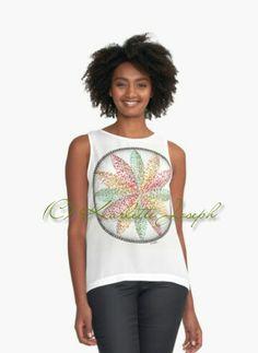 Illusion Mandala Tank Top  http://www.redbubble.com/people/karlettejoseph/works/22758834-illusion?p=contrast-tank&rel=carousel  #ladieswear #tank #top #mandala #art #fashion #women