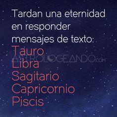 #Tauro #Libra #Sagitario #Capricornio #Piscis #Astrología #Zodiaco #Astrologeando astrologeando.com Libra Zodiac, Sagittarius, Horoscope, Zodiac Signs, Signo Libra, Taurus Quotes, Tarot Learning, Sentences, Best Quotes