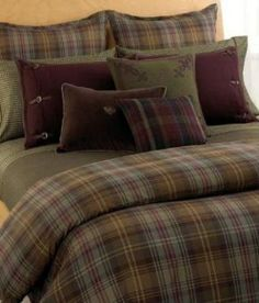 Ralph Lauren Edgefield Bedding Plaid Collection Houndstooth