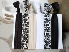 The  Lady in Leopard  Bundle of Six 6 A Mix of Leopard by PlumPosh, $7.00