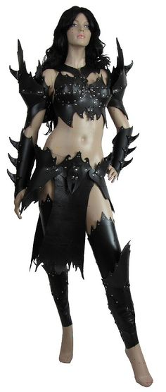 LARP Female Armour Full Set Wytch Elf - TheVikingStore.co.uk
