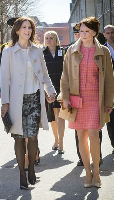 Princess Mary and Princess Marie of Denmark dazzle in Copenhagen - Photo 1 | Celebrity news in hellomagazine.com