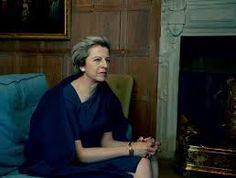 Theresa May Britain's Prime Minister photo by Annie Leibovitz