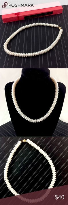 """Vintage Freshwater Pearls circa 1940's Elegant string of vintage freshwater pearls in original box!  16"""".  Absolutely gorgeous!                  Please ask all your questions before you purchase! I am happy to help! Sorry, no trades or holds. Please, no lowball offers Please use Offer Button! Happy Poshing! Jewelry Necklaces"""