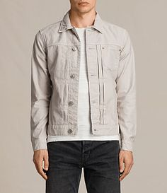 AllSaints New Arrivals: Singel Denim Jacket