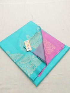 Kanjivaram Sarees Silk, Indian Silk Sarees, Saree Models, Stylish Sarees, Blue Saree, Fancy Sarees, Saree Wedding, Indian Wear, Indian Outfits