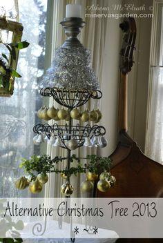 Minerva's Garden:  Alternative Christmas Tree 2013