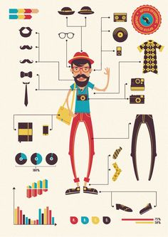 hipster vectors - Google Search