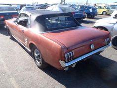 1966 Ford Mustang 289 Convertible - Flood Damage - Make Offer 1966 Ford Mustang, Ford Mustang Fastback, Project Cars For Sale, 1967 Shelby Gt500, Ford Convertible, Mustang For Sale, Flood Damage, Custom Muscle Cars, Old Fords