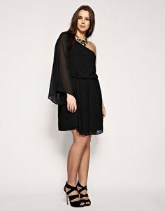 ASOS angel sleeve dress.  From £22