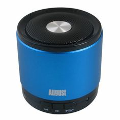 August MS425 Portable Bluetooth Speaker with Microphone:  I have one of these and love it.
