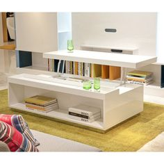 Found it at AllModern - Belafonte Coffee Table with Lift Top