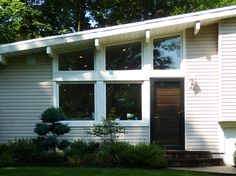 Mid Century Modern Home Exterior Paint Colors a really fun before and after http://www.createcolorzen