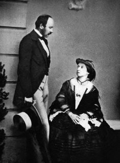 "Queen Victoria and Prince Albert, ca 1860. ""Even in my dreams I never imagined that I should find so much love on earth. How that moment shines for me when I was close to you, but with your hand in mine!"" ~Prince Albert, November 1839"